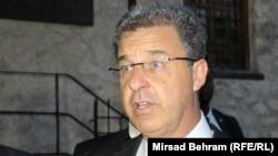 Serge Brammertz u Mostaru, foto: Mirsad Behram