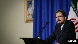 بهرام قاسمی، سخنگوی وزارت امور خارجه ایران.