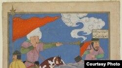 نسخه ای از شاهنامه فردوسی چاپ گیلان در قرن پانزدهم میلادی