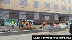 Трудовые мигранты в Москве.