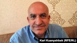 Постсоветтік елдердегі ислам мәселесін зерттеуші ғалым Байрам Балчи. Алматы, 7 маусым 2017 жыл.