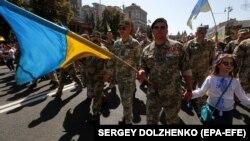 Марш захисників України. Київ, 24 серпня 2019 року