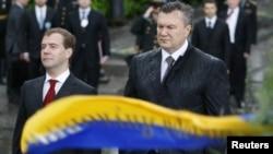 Dmitri Medvedev Kiyevdə, 17may 2010