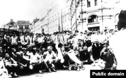 Крымские татары в Москве, 1987