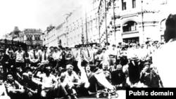 Кримські татари в Москві, 1987