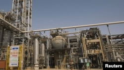 A petrochemical plant in Khuzestan Province