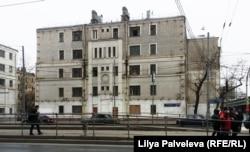 Самый известный дом на Русаковской улице. Архитектор Борис Улинич