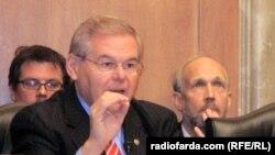 Сенатор Роберт Менендес во время заседания Сената (архивная фотография)