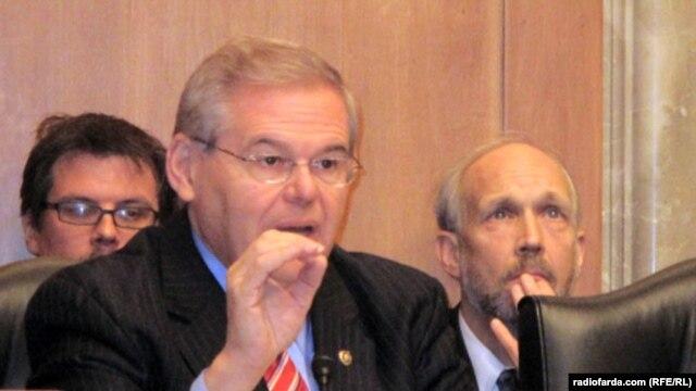 رابرت منندز، سناتور دمکرات از ايالت نيوجرسی،