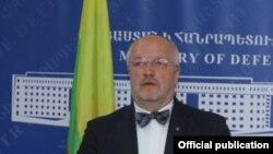 Міністр оборони Литви Юзас Олекас
