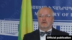 Міністр оборони Литви Юозас Олекас, архівне фото