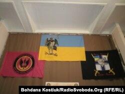 Прапори підрозділів морської піхоти України