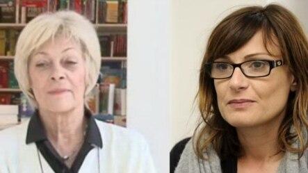 Daša Drndić i Biljana Srbljanović