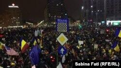Protest u Bukureštu