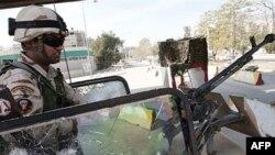 دولت عراق می گوید نیروهایش در بصره پیشروی کرده اند. عکس از خبرگزاری (AFP).