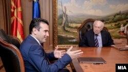 Metku Nimic i Zoran Zaev