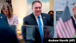 Новиот државен секретар на САД, Мајк Помпео.