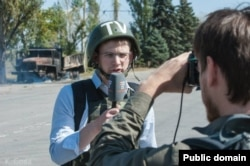 Віталій Сизов, журналіст Громадського телебачення Донбасу