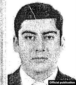 Анар Әлиев есімді адамның паспортындағы сурет. Фото Extractive Industries Transparency Initiative (EITI) есебінде жарияланған.