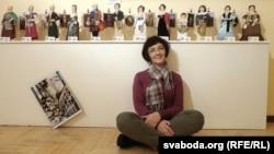 Маргарыта Верамейчык са сваімі лялькамі