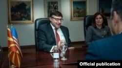 Aмериканскиот помошник државен секретар задолжен за Западен Балкан, Метју Палмер,