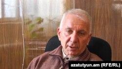 Անօթևանների կացարանի տնօրեն Շավարշ Խաչատրյանը