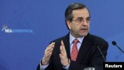 Kryeministri grek, Antonis Samaras (Ilustrim)