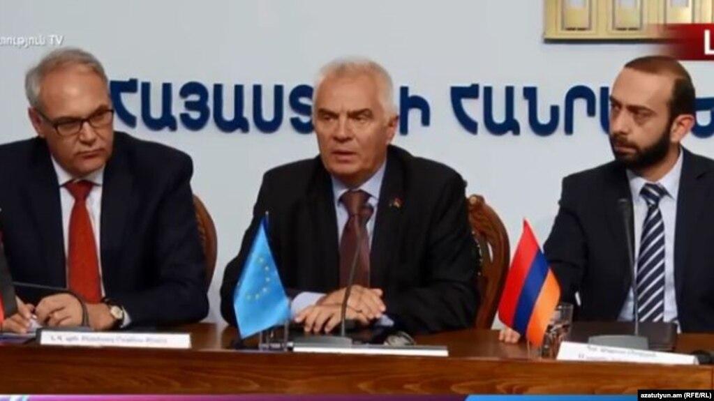 «Мы верим, что в результате демократических выборов в Армении будет сформировано легитимное, внушающее доверие правительство» - посол ЕС