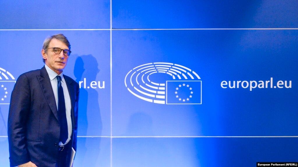 Präsident des Europäischen Parlaments David Sassoli
