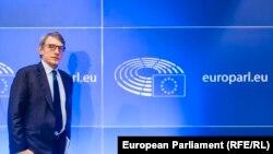 David Sassoli, președintele Parlamentului European