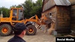 Знесення ромського поселення у Татарстані