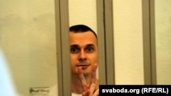 Олег Сенцов у суді, архівне фото