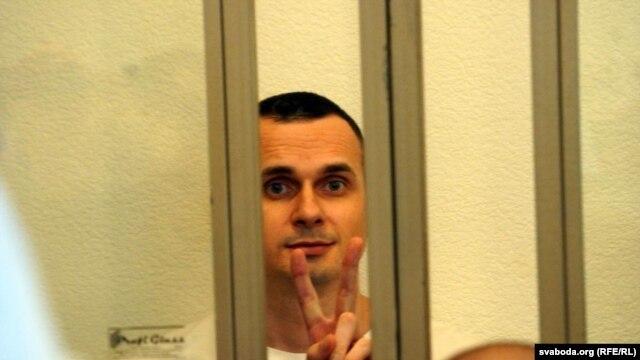 Олег Сенцов в суде