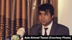 عزیز احمد تسل رئیس گروه عدالت خواهی و حفاظت از افراد ملکی