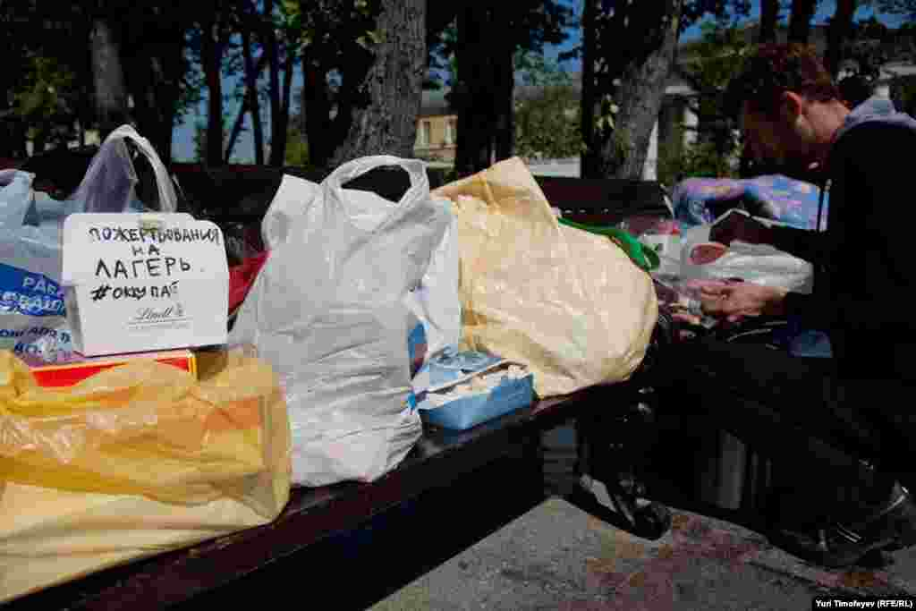 """17 мая, еда есть, пожертвования принимаются. Основная """"движуха"""" будет вечером."""