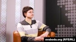 Валерыя Хоціна ў студыі Свабоды