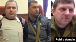 Олексій Рельке, Валерій Болотов, Олексій Карякін (зліва направо)