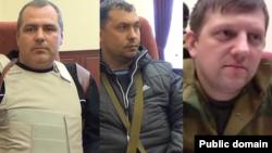 Слева направо: Алексей Рельке, Валерий Болотов и Алексей Карякин (коллаж)