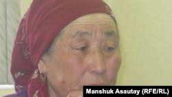 Сулушаш Комекбаева, бабушка убитой девушки из села Бесагаш. Алматы, 29 марта 2009 года.