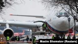 Letelica Iljušin 96 kojom su u Moskvu doputovale ruske diplomate