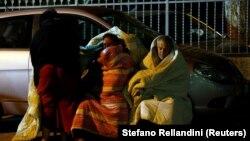 В Аматриче оставшиеся без крова жители ночуют в автомобилях