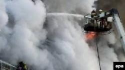 Крупные пожары в этом году случаются чаще обычного