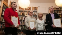 Сяргей Кручкоў, Гары Паганяйла, Тамара Сідарэнка, Андрэй Бандарэнка