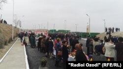 Марзи Тоҷикистон ва Узбакистон дар ноҳияи Спитамен.