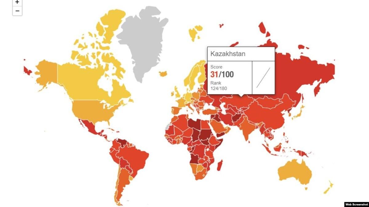 Туркменистан стал худшим по уровню коррупции в Центральной Азии