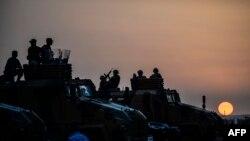 Türkiyə ordusu.
