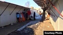 Чэрвенскі рынак у Менску, 2 студеня 2016 году