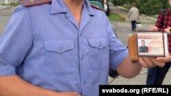 Міліцыянт у Смалявічах, ілюстрацыйнае фота