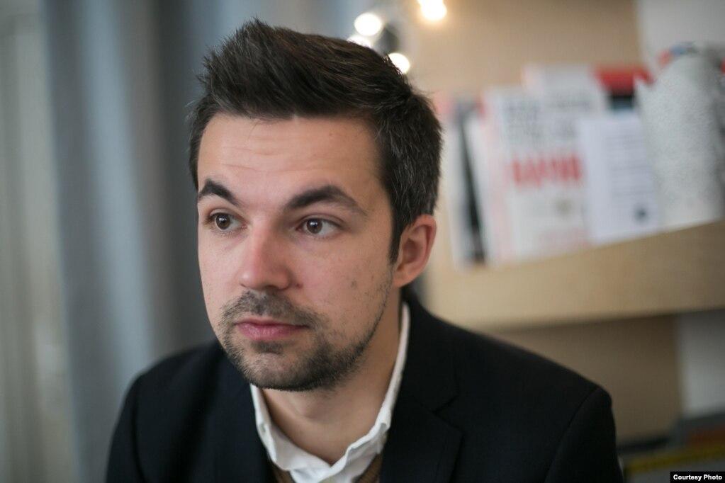 Писатель Саша Филипенко
