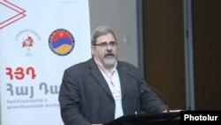 Руководитель офиса «Ай дат» и по политическим вопросам Бюро АРФД Киро Маноян, 24 февраля 2020 г.